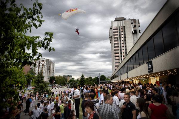 Валери Розов над Пловдив