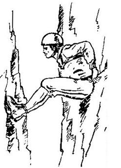 Фигура 4. Начин с опиране на краката и гърба в стените