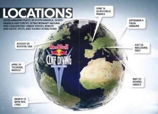Локациите за Red Bull Cliff Diving 2011