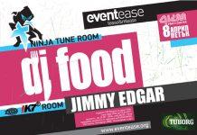 EventЕase - DJ FOOD и Jimmy Edgar