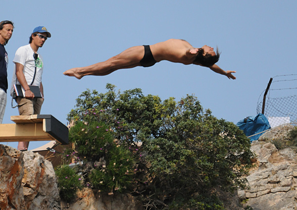 Тодор Спасов, участник в Red Bull Cliff Diving 2011, Атина
