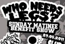 SUNDAY MATINEE BENEFIT SHOW