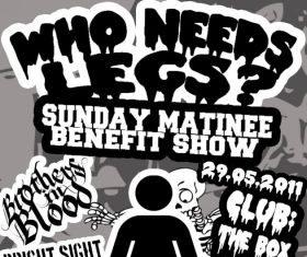 SUNDAY MATINEE BENEFIT SHOW
