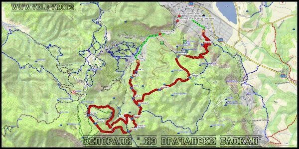 Карта на трасето