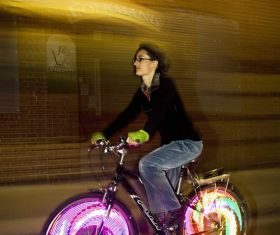 Нощна велоразходка в София