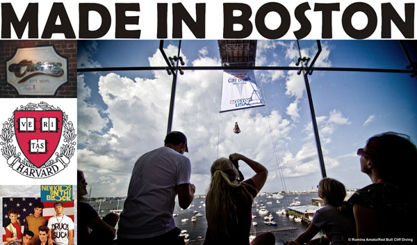 Made in Boston / photocredit: Romina Amato / Red Bull Cliff Diving