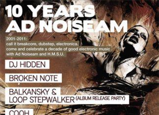 Десетилетие електронна музика с AD Noiseam и H.M.S.U.