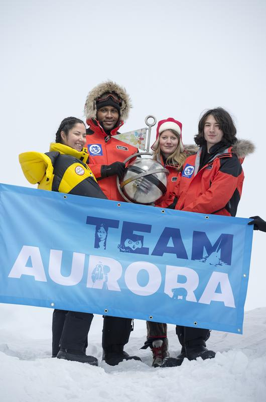 Team Aurora Greenpeace Save the Arctic