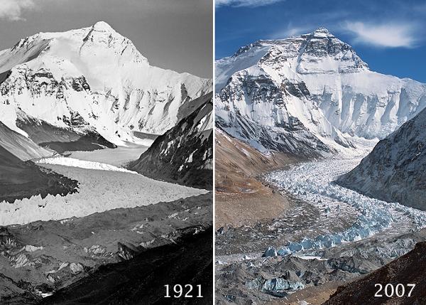 Топящите се ледове на Еверест
