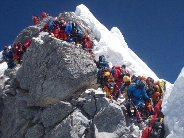 Еверест днес