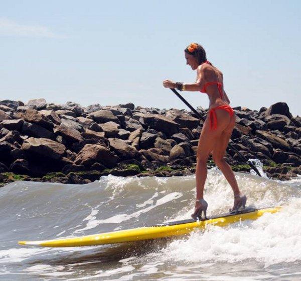 Сърфиране на токчета