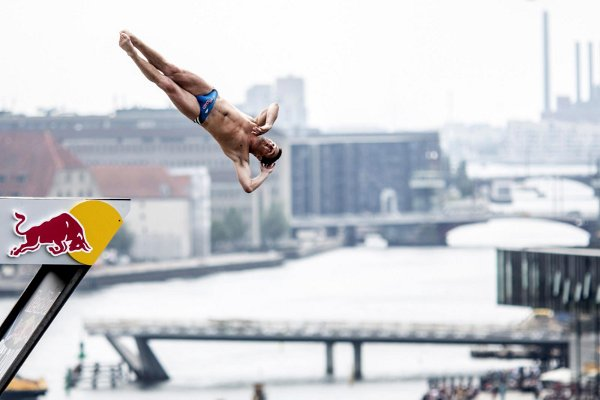 Cliff Diving Denmark
