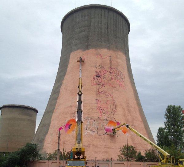В София ще бъде един от най-големите графити mural-и в Европа