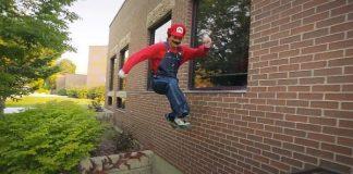 Супер Марио паркур