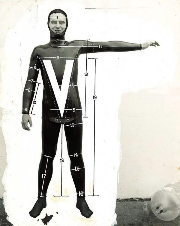 Body Glove костюм от 50-те години на миналия век