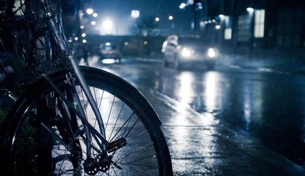 С велосипед в града