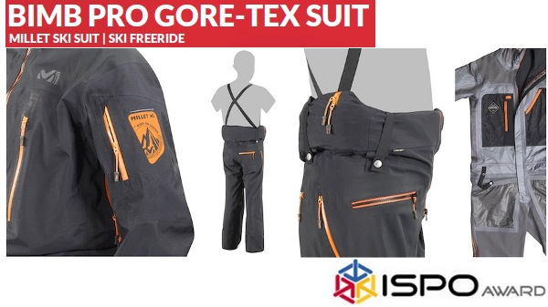 Ски гащеризон BIMB PRO GORE-TEX SUIT от MILLET