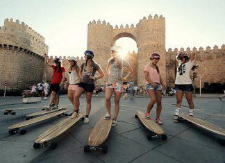 Женската лонгборд обиколка на Испания