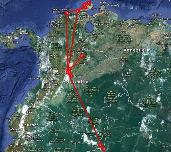 Клуб на пътешественика представя: Колумбия