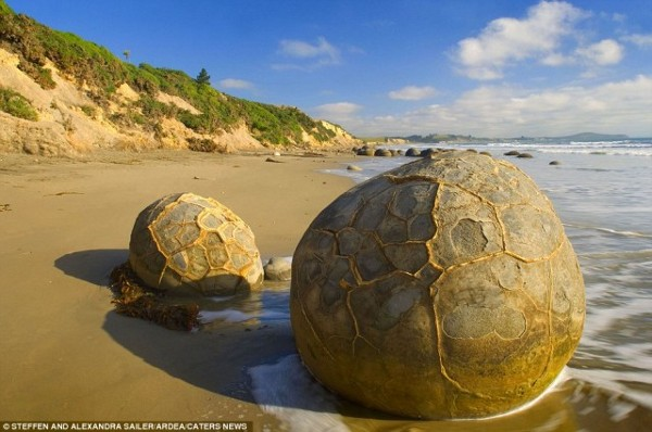 Камъните The Moeraki Boulders