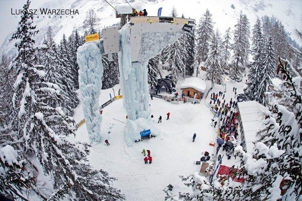 Световната купа по ледено катерене 2014
