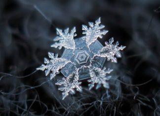 Снежинките отблизо