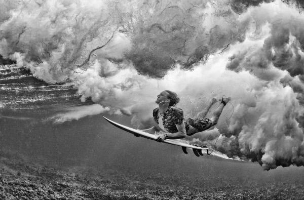 Райън Харгрейв в Namotu, Фиджи.