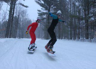 Крос кънтри сноуборд