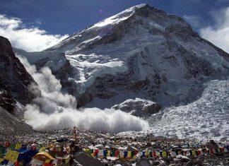 Най-големият инцидент с лавина на Еверест