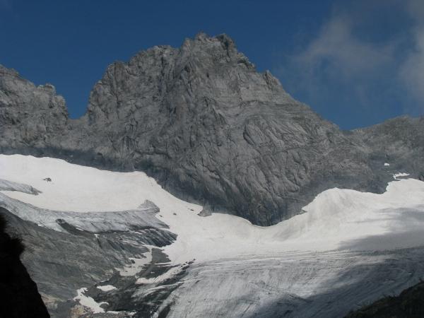 Ледник в Швейцарските Алпи