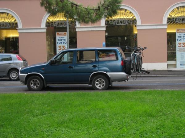 Откраднатото колело в Италия