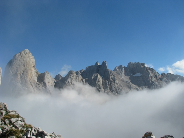 Pico Urrieillu, Picos de Europa