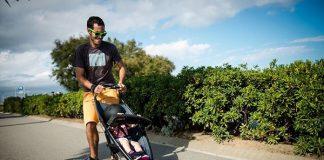 Лонгборд + детска количка в едно