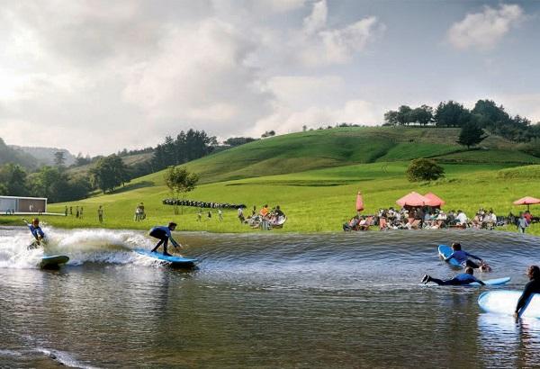 Изкуствен сърф парк във Великобритания
