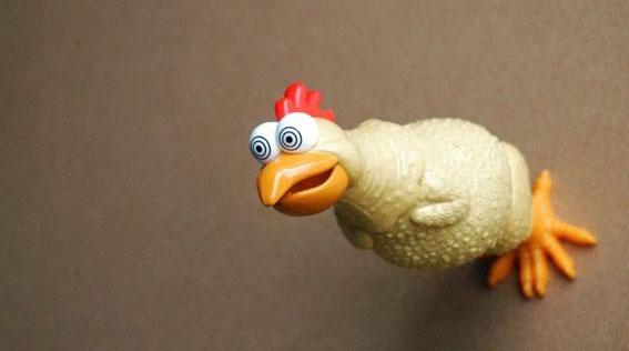 Луда кокошка