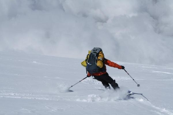 Със ски по склоновете на Мустагата, 2012