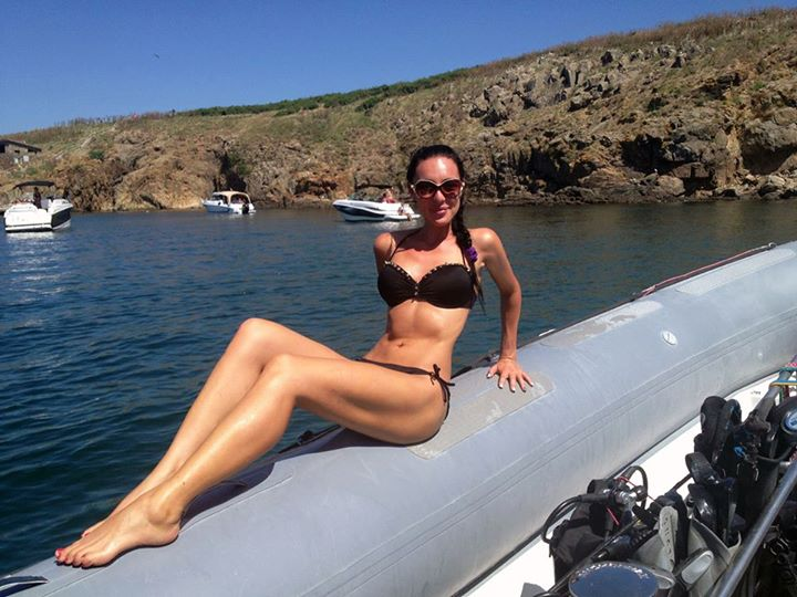Христина Димитрова-Ина, DivingBG, гмуркане