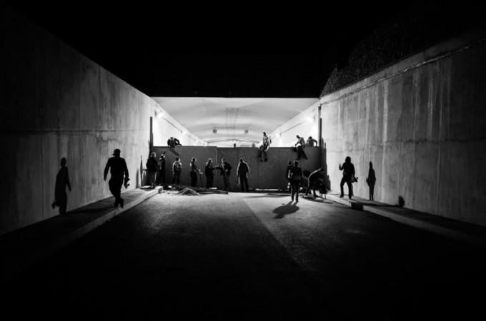 Тунел за скейтъри в Прага