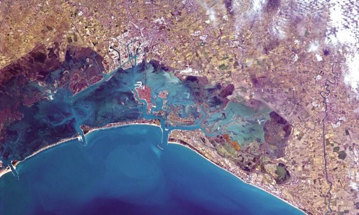 Венеция от космоса