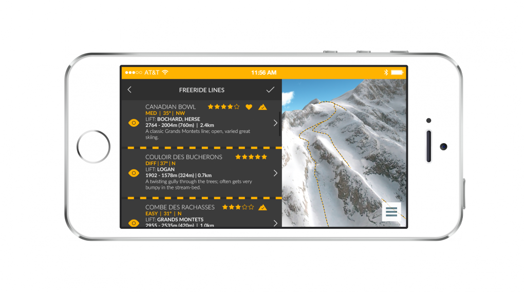 FATMAP приложение за скиори и сноубордисти