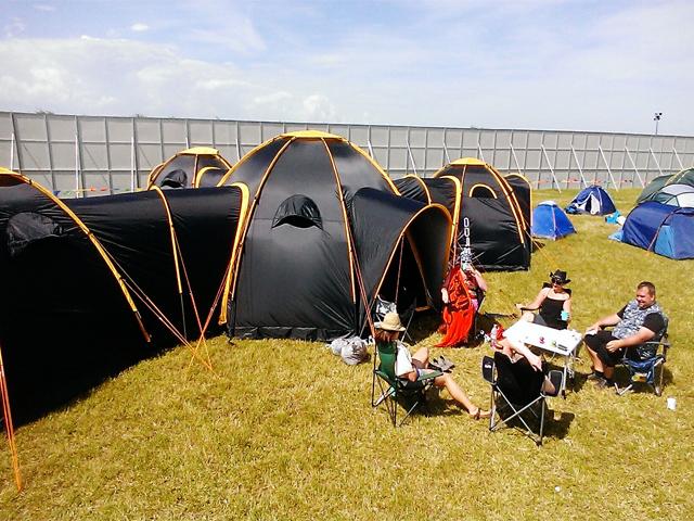 Палатки за много хора
