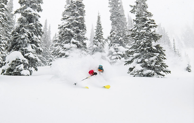 Suunto Ambit 3 skiing