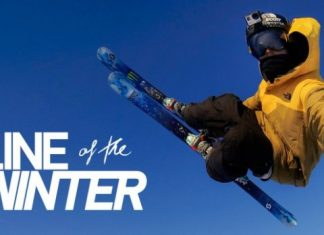Line of the winter GoPro