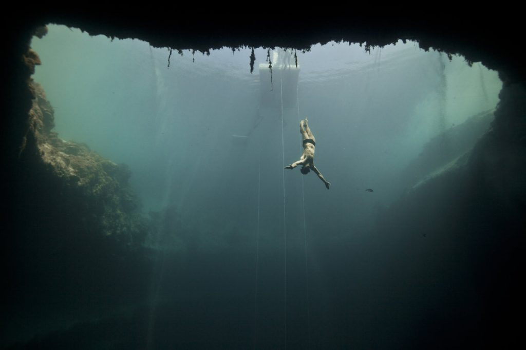 Свободно гмуркане - Синята дупка на Дийн