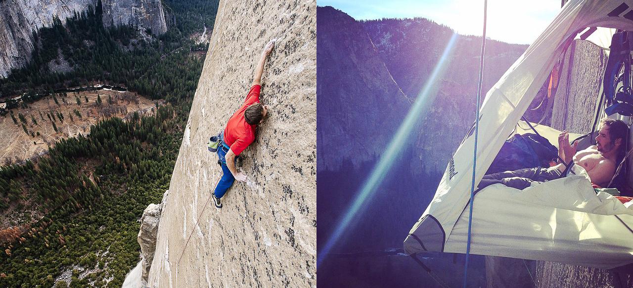 Снимка на седмицата - Стената на зората - Томи Колдуел, Кевин Джоргесън