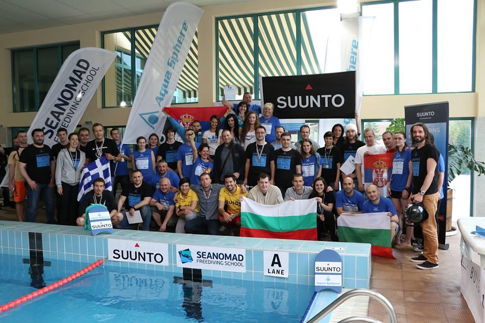 Sofia Freediving Cup 2014