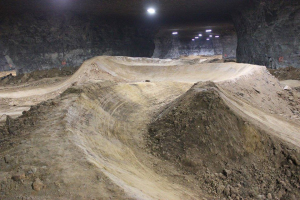 Байк под земята