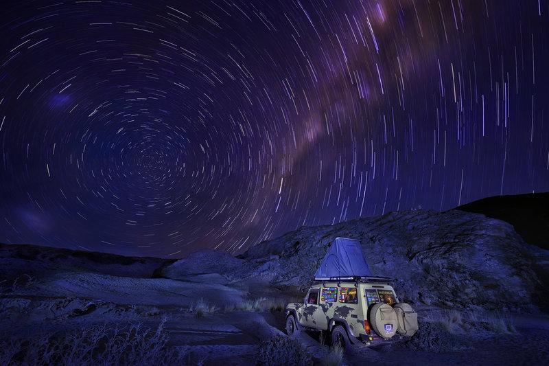 Екстремни места за къмпинг - Намиб