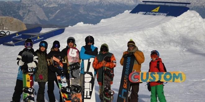 Момчетата от Националния отбор по сноуборд