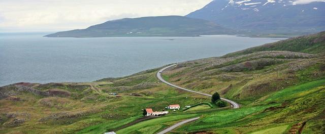 Кръговият път, Исландия